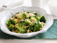 Healthy Broccoli Roman Style Recipe : Food Network Kitchen : Food Network - FoodNetwork.com