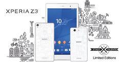 Sony presenta i dispositivi Xperia Z3 Limited Edition, belli ma rari - http://www.keyforweb.it/sony-presenta-i-dispositivi-xperia-z3-limited-edition-belli-ma-rari/