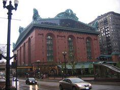 Harold Washington Library. Harold Washington was Chicago's first African American mayor