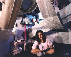 Photographer Adrienne Salinger's series of teenage bedrooms from the 90s.
