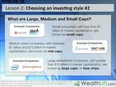 ▶ Stock Investing Lesson 2 - Stock Investing Strategies - YouTube - WealthLift