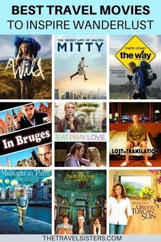 The best travel movies and TV shows of all time. This ultimate list of the best movies about travel is sure to inspire wanderlust! Travel Advice, Travel Guide, Travel Ideas, Travel Articles, Travel Movies, Travel Books, Virtual Travel, Ultimate Travel, Wanderlust Travel