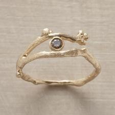 DIAMOND VINE RING - Dazzle Her | Robert Redford's Sundance Catalog