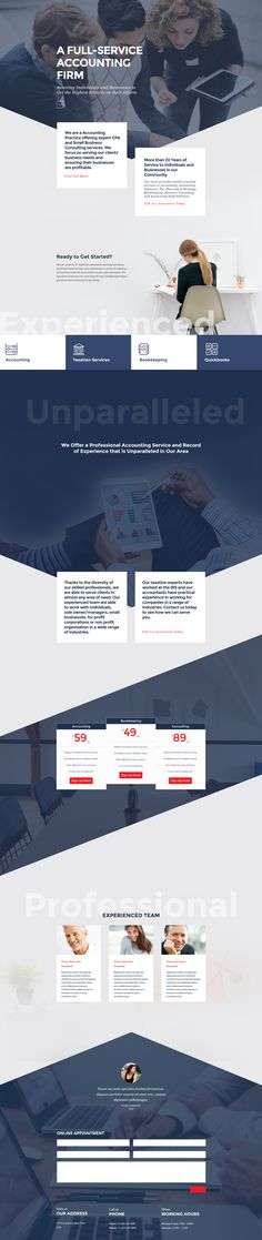 A professional, modern accounting and finance themed homepage web design for anyone wanting to build a Divi website. Download this professional FREE Tax and Accounting Divi layout template. It is a pre made Divi layout. Fully editable with the Divi builder. No CSS knowledge needed to edit this baby.