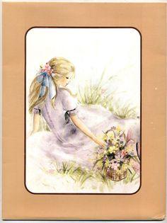 arco-Iris Loreta - papel de carta com vc - Julia - Capinha de papelão da coleção Julia