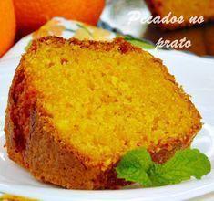 Receita de bolo de cenoura com laranja