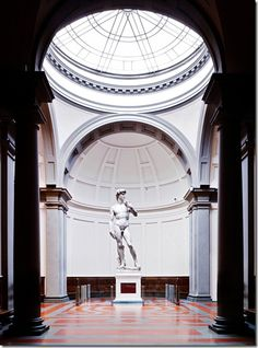 Candida Höfer - IX_Accademia_Firenze_I_2008 David by Michelangelo