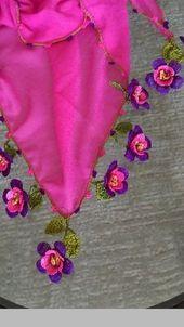 Crochet Borders, Crochet Motif, Crochet Flowers, Crochet Lace, Crochet Purse Patterns, Crochet Purses, Knitting Patterns, Crochet Garland, Tatting