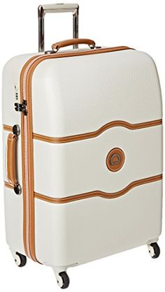 Delsey Luggage Chatelet 24 Inch Spinner Trolley Champagne One Size ** For more information, visit image link. Amazon Affiliate Program's Ads.