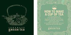 DNA Design Studio - packaging design for Japanese tea brand