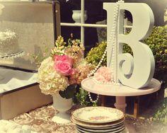 Vintage tea party Bridal/Wedding Shower Party Ideas | Photo 2 of 18