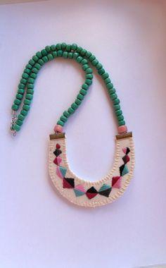 idea de collar artesanal