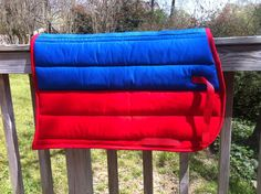 Eventer style blue and red