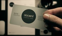 12 Minimal Business Card Designs