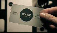 12 Minimal Business Card Designs