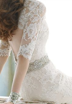 I have no reason to post this, but if I were getting married again, I would get a dress like this