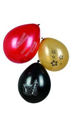 """Lot de 6 ballons """"VIP"""""""