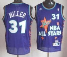 Indiana Pacers 31 Reggie Miller Purple 1995 All Star Throwback Jersey Wholesale Cheap