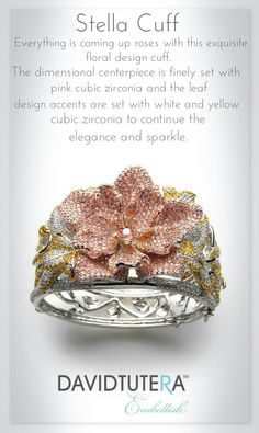 This is my absolute favorite piece in the entire Embellish Collection. It is Just Stunning And Breathtaking! ♥ You can find it here http://www.davidtuteraembellish.com/stella-cuff.html