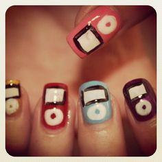 iPod nails #funny