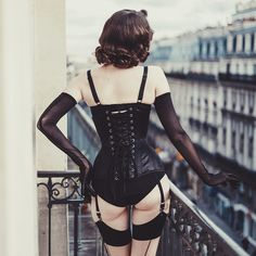Make time for luxury this Spring in true Parisian fashion with the wonderful Nelson Anyways and Video Paris. Head to our blog now to see the full lookbook shot by this talented duo on our blog! Daria wears Isabella Bra, Morticia Nouveau Corset, Isabella Knickers and Suspenders and Contrast Glamour Seamed Stockings.