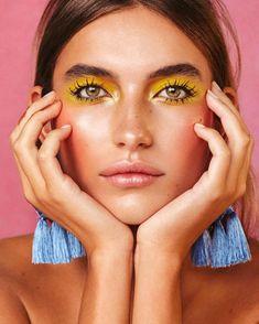 Makeup Trends, Makeup Inspo, Makeup Art, Makeup Inspiration, Beauty Makeup, Hair Makeup, Beauty Trends, Makeup Ideas, Fashion Editorial Makeup
