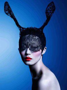 """Bunny Ears"" Vogue Japan."