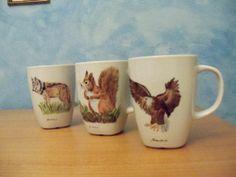 Tazze con animali del bosco - Wood animals mugs