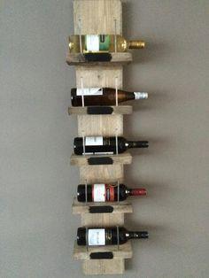 wijnrek steigerhout - Google zoeken