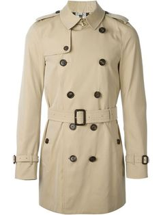 BURBERRY Belted Trench Coat. #burberry #cloth #coat
