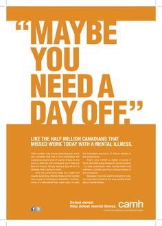 Mental Illness awareness in the workplace from Toronto Life in Canada