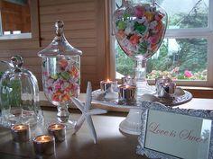 wedding candy, DIY wedding decorating