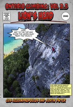 Lion's Head rock climbing guidebook available now on @rakkup #lionsheadclimbing #rakkupguidebook #rakkup