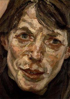 Lucian Freud, Head of a Woman, Skin Color Paint, Lucian Freud Paintings, Artists And Models, Oil Portrait, Jackson Pollock, Western Art, Art History, Fine Art, British Artists