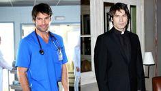Rafael Amaya en las series españolas 'Hospital Central' y 'Doctor Mateo'