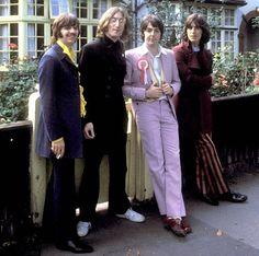 28 de julio de 1968. Los Beatles historia