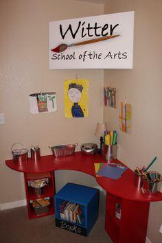 Spots-4-Tots, LLC. Jacksonville, Florida. Children's furniture. Desk. Art corner. Custom made beds and designs. Bunk bed. Loft bed. Themed bed. Boys. Girls. Kids bed. www.spots4totsplayhouses.com. or find us on FaceBook!