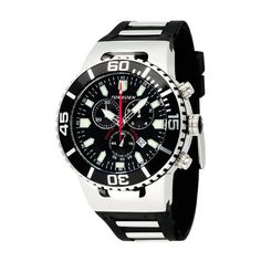 dafeea9ebe3 Torgoen Men s Analog Quartz Watch with Black Dial and Rubber Strap - T24301  Price  £