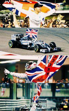 Lewis Hamilton - World Champion 2014