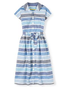 Seatown Shirt Dress Day Dresses at Boden