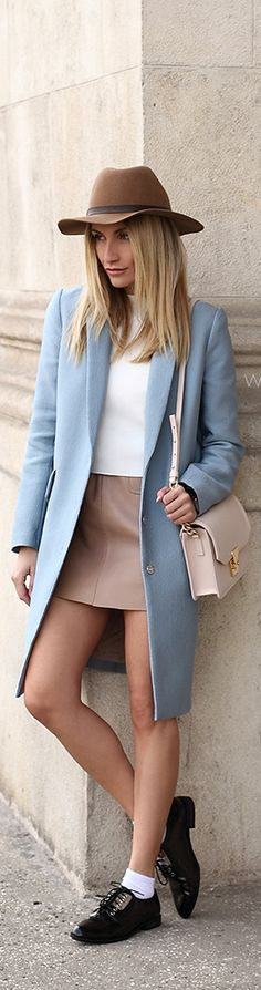 Fall Pastels / Fashion By Postolatieva
