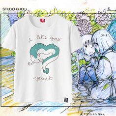 Studio Ghibli T-Shirt Unisex Spirito Haku Fan Art Limited https://www.shoppi.online/cagliostro/photos/uncategorized/studioghibli#products.12943