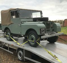 """eBay: Land Rover Series 1 80"""" 1948 MY Lights Behind the Grille Silver Chassis #classiccars #cars"""