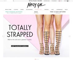 Nasty Gal Nasty Gal's founder Sophia Amoruso started hawking her vintage finds on Ebay, and now runs an online fashion empire. With new and bygone pieces that all have either a sweet, girly spin or an edgy, rock-'n-roll vibe, Nasty Gal is a staple on the market to get cooler-than-cool-garb without necessarily breaking the bank. Courtesy of Company  - MarieClaire.com