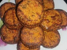 Greek Recipes, Baby Food Recipes, Cooking Recipes, Vegan Vegetarian, Vegetarian Recipes, Vegan Patties, Savoury Dishes, No Cook Meals, Soul Food