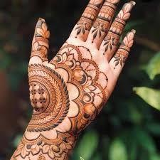 Mehndi Designs Front Hand, Mehandhi Designs, Floral Henna Designs, Latest Bridal Mehndi Designs, Mehndi Designs 2018, Modern Mehndi Designs, Henna Art Designs, Mehndi Designs For Beginners, Mehndi Design Photos