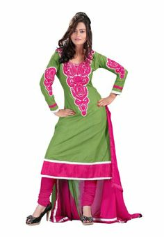 Fabdeal Women's Indian Designer Wear Embroidered Salwar Sea Green & Pink Fabdeal,http://www.amazon.com/dp/B00F0KM8M8/ref=cm_sw_r_pi_dp_Mxtptb0AT7D5M7NR