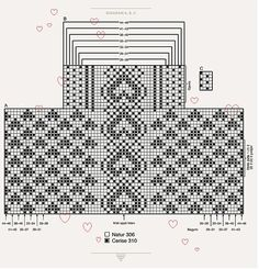 "Вязание. Жаккард - ""Зимняя радуга""   VK Periodic Table, Diagram, Coding, Breien, Periodic Table Chart, Periotic Table, Programming"