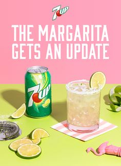 The classic margarita gets a hint of lemon-lime bubbles with the addition of 7UP. Try this refreshing take today. Mix freely and drink responsibly. #DoMoreWith7UP  Must be 21+. Please drink responsibly. Age verification required.