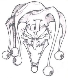 joker hat sketch - Google Search